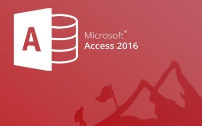 E361 Microsoft Access 2016. Básico