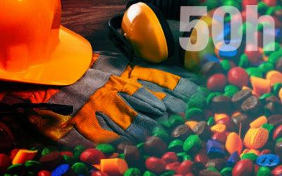 C453 Básico de prevención de riesgos laborales. Industria del Plástico. 50h