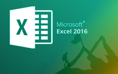 E356 Excel 2016 Avanzado