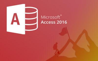 E376 Microsoft Access 2016. Avanzado